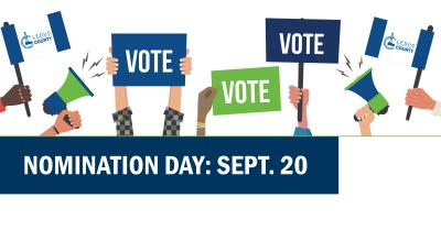 Nomination day is Sept. 20