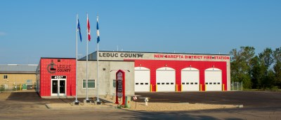 New Sarepta Fire District Station